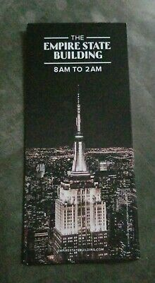 Empire State Building Brochure - New York City