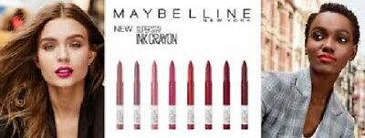 MAYBELLINE Superstay Ink Crayon Lipstick CHOOSE YOUR COLOUR matte longwear