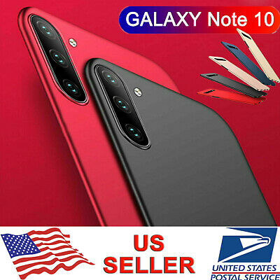For Samsung Galaxy Note 10 Plus S10+ Ultra Slim Matte Hard Back PC Cover Case