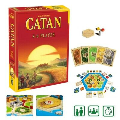 New Family Trade Card Game Settlers of CATAN Strategic Social Board Game AU