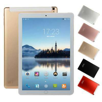 10.1 Inch Android 8.0 Ten-Core Tablet PC 64GB WIFI HD Touch Phablet Dual SIM USA
