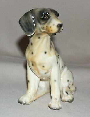 "Vintage Dog Figurine Pointer Retriever Porcelain 6 ¼"" Tall"