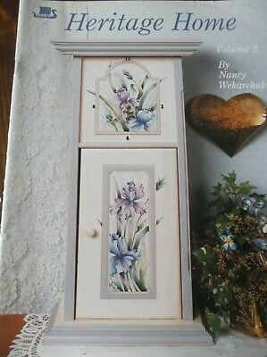 Decorative Painting Pattern Book Heritage Home Vol 2 Poinsettia Iris Violet Flow