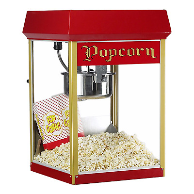 Superpop FunPop 8oz Red Popcorn Machine