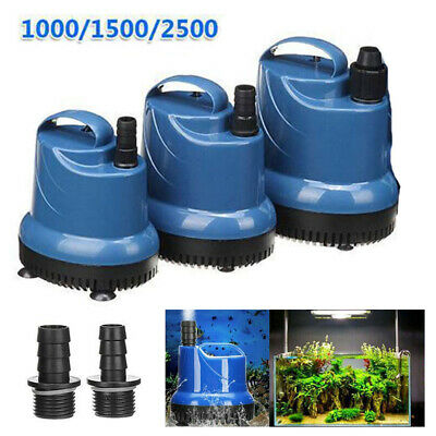 220V 40W Submersible Water Pump Fish Tank Aquarium Pond Fountain Spout Pump UK