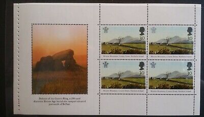 GB 1994 Prestige Pane Giants Ring from DX16 Northern Ireland Booklet SG1812a MNH
