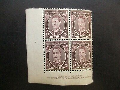 Australian Pre Decimal Stamps: Block (MINT) - Excellent Item, Must Have (T2703)