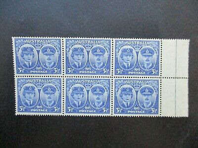 Australian Pre Decimal Stamps: Block (MINT) - Excellent Item, Must Have (T2705)