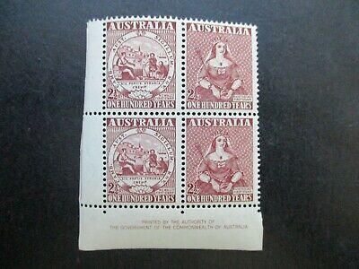 Australian Pre Decimal Stamps: Block (MINT) - Excellent Item, Must Have (T2708)