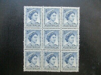 Australian Pre Decimal Stamps: Block (MINT) - Excellent Item, Must Have (T2715)