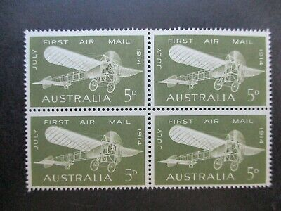 Australian Pre Decimal Stamps: Block (MINT) - Excellent Item, Must Have (T2721)