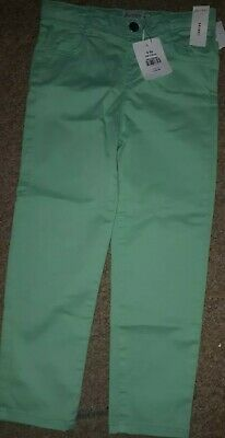 Outfit Trousers Mint Trousers Designer Chinos Girls Trouser 4-5 years RRP £18