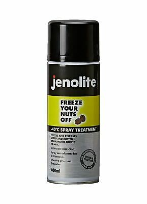 Jenolite Aerosol Freeze Nuts Spray For Rusted Nuts And Bolts - 400ml