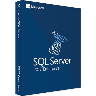 MS SQL Server 2017 Enterprise Product Key | Unlimited Cores - Instant Delivery