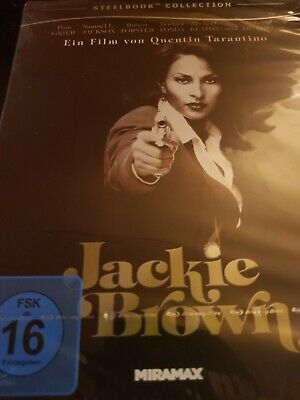 Jackie Brown Steelbook Collection Blu-ray New    & Sealed Quentin Tarantino Rare