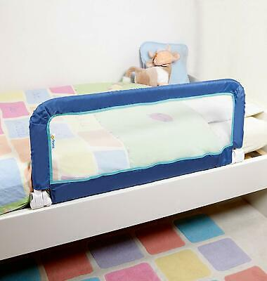BED SIDE RAIL Safety Guard Baby Kids Children Toddlers Blue For Home Night Time