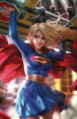 Supergirl # 34 Variant Cover NM DC Pre Sale Ships Sept 11th