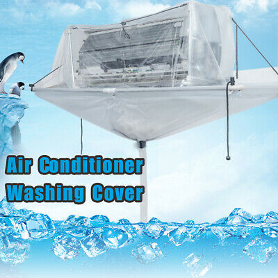 Totally Enclosed Type Air Condition Cleaning Washing Tool Cover Ceiling Wall Mou