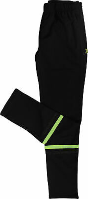 More Mile Boys Football Training Pants Black Junior Tracksuit Bottoms Ages 7-14