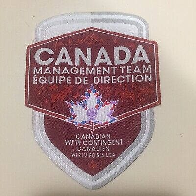 24th World Scout Jamboree 2019 Canada Management Team Badge