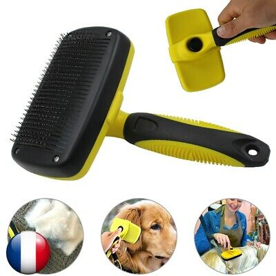 Auto-Nettoyant Professional Pet Brush Best Cat & Dog Grooming Comb Sur Le Marché
