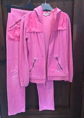 Pink Juicy Couture Girls track suit 10-12 years old