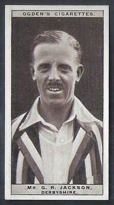 Ogdens-Cricket 1926-#26- Derbyshire - Jackson
