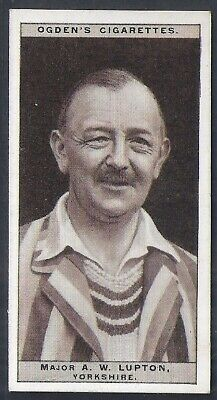 Ogdens-Cricket 1926-#30- Yorkshire - Lupton