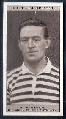 Ogdens-Famous Rugby Players-#26- Broughton Rangers - Bentham