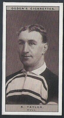 Ogdens-Famous Rugby Players-#48- Hull - Taylor