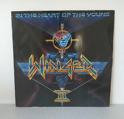 Winger  - In The heart of the Young 1990 - Vinyl LP