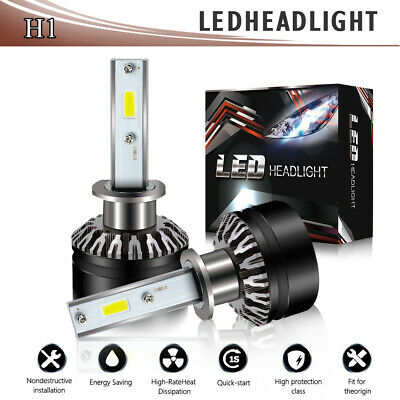 for KIA Optima 2006-2015 LED Headlight Kit H1 6000K 12000LM High Beam Bulbs DTH