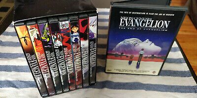 Neon Genesis Evangelion DVDs - The Perfect Collection & The End of Evangelion