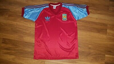 Retro Vintage West Ham United Football Shirt Large 42