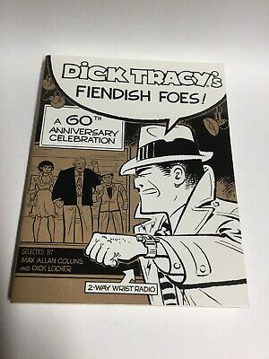 Dick Tracy's Fiendish Foes A 60th Anniversary Celebration SC Softcover Oversized