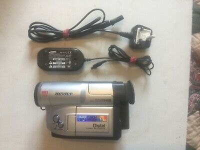 Samsung VP-L 900 pal camcorder + Adapter, Battery & Sony HS 60 Cassette Tested