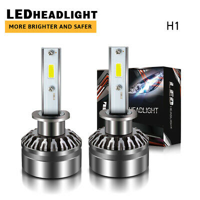 for INFINITI G37 2008-10 LED Headlight Kit H1 12000LM 6000K Fog Light Bulbs DTH