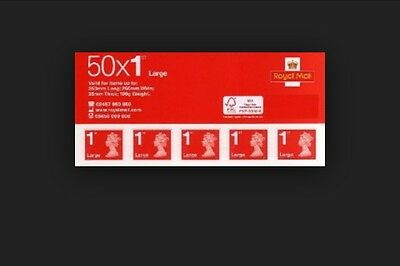 50 Large First Class Stamps