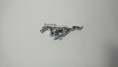 FORD MUSTANG Grill Front Emblem Badge with Pins and Tape  150 x 50 mm
