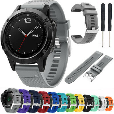 Silicone Sport Watch Band Strap For Garmin Instinct 22mm Replacement Wristband