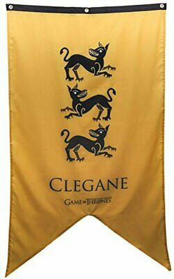 """Calhoun Game of Thrones House Sigil Wall Banner (30"""" by 50"""") (House Clegane)"""