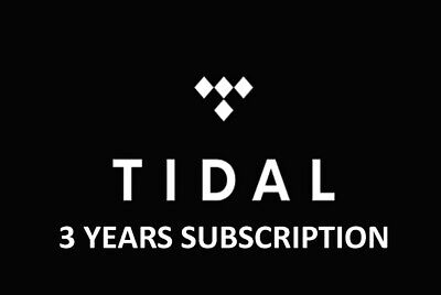 Tidal PREMIUM PLAN 3 Years/36 Months -Worldwide-Fast delivery-Lifetime warranty