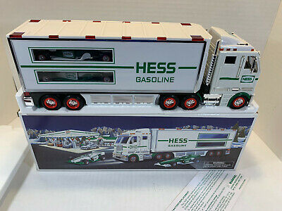 Hess Truck Toy Truck and Race Cars 2003