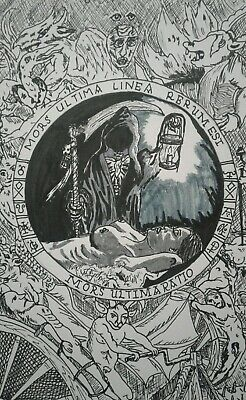 Gothic Art Supernatural J Crow Smith Art J Crow Smith Art Pen and Ink