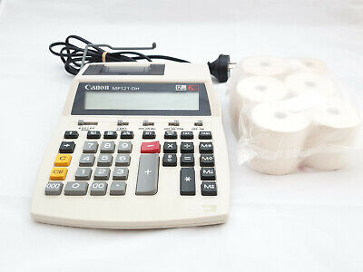 Canon MP121 Printing Calculator with refill rolls