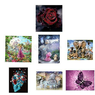 5D Diamond Painting Embroidery Cross Stitch Pictures Craft Kit Mural Decor