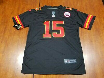 Nike On Field Patrick Mahomes Chiefs Men's Black Jersey Sz Large Ltd Edition