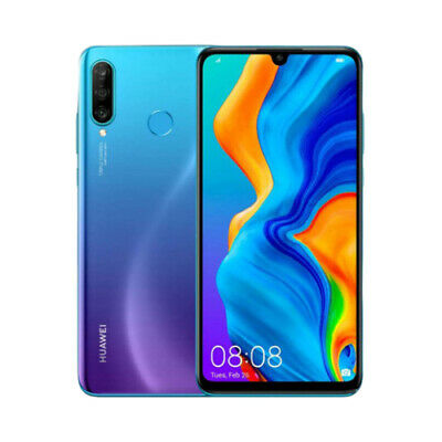 NEW Huawei P30 Lite 128GB 6GB MAR-LX2 Dual SIM - Peacock Blue