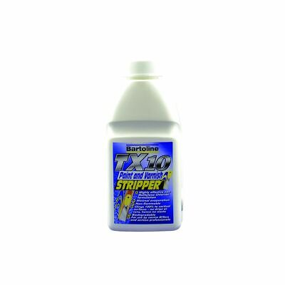 Bartoline T X 10 Paint & Varnish Stripper - 500Ml Water Based Indoor Outdoor