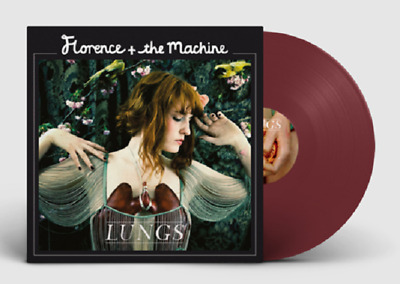 Florence & The Machine Lungs 10th anny ltd 180gm BURGUNDY vinyl LP NEW/SEALED